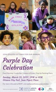 Purple Day Celebration Poster
