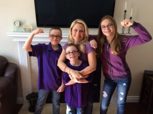 7-year-old Caeden and his family raise epilepsy awareness in Barrhaven.