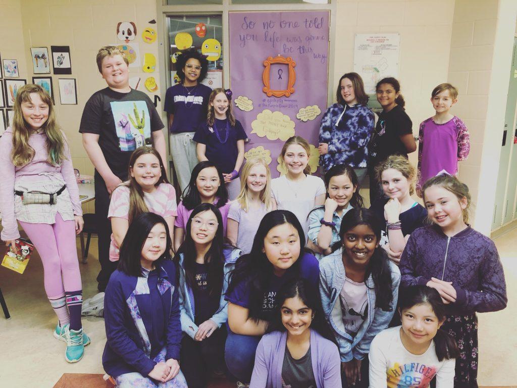 Students at Adrienne Clarkson Public School are Seizure Smart!