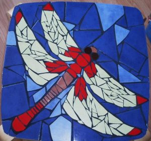Dragonfly Mosaic by Sabita