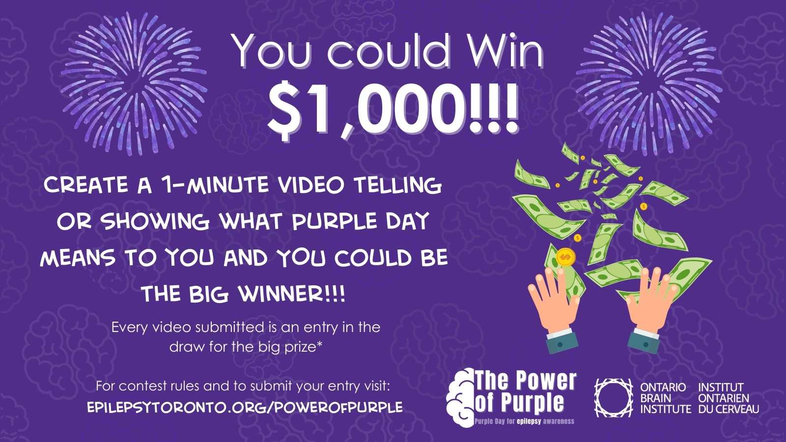 Power of Purple Video Contest
