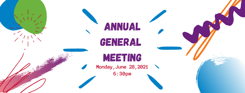 Annual General Meeting - Monday June 28, 201, 6:30 pm